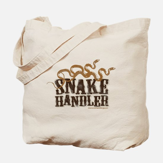 Snake Handler Tote Bag