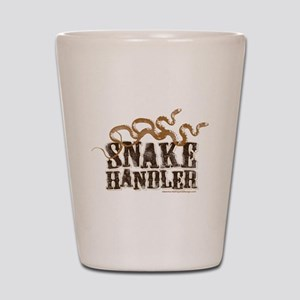 Snake Handler Shot Glass