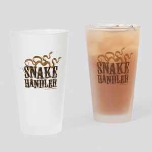 Snake Handler Drinking Glass