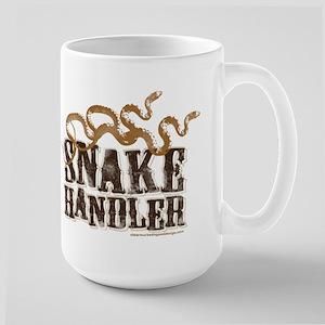 Snake Handler Large Mug