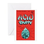 """Greeting (10)-""""Acid Party"""""""