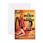 """Greeting (10)-""""The Wicked and Warped"""""""