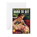 """Greeting (10)-""""Hard To Get"""""""