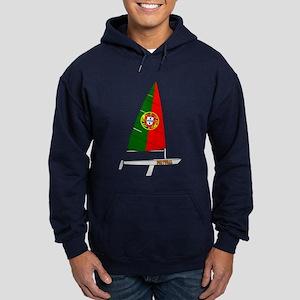Portugal Dinghy Sailing Hoodie (dark)