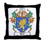 Read Coat of Arms Throw Pillow