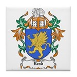 Read Coat of Arms Tile Coaster