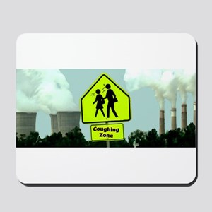 Coughing Zone Mousepad