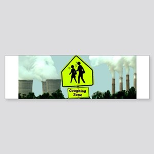 Coughing Zone Bumper Sticker