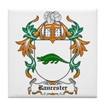 Raucester Coat of Arms Tile Coaster