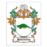 Raucester Coat of Arms Small Poster
