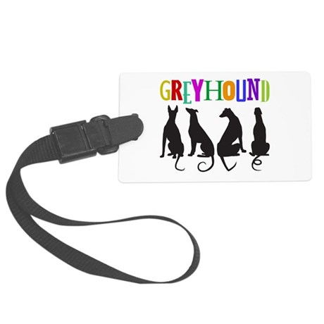 Tails of Love Large Luggage Tag