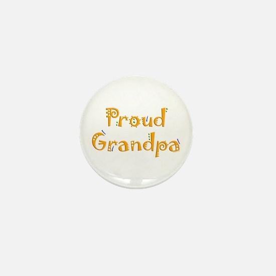 Proud Grandpa Mini Button