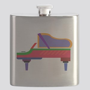 Funky Piano Flask