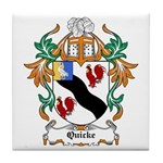 Quicke Coat of Arms Tile Coaster