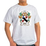 Quicke Coat of Arms Ash Grey T-Shirt