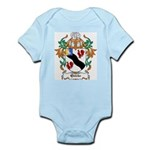 Quicke Coat of Arms Infant Creeper
