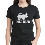 Cold Beer Women's Dark T-Shirt