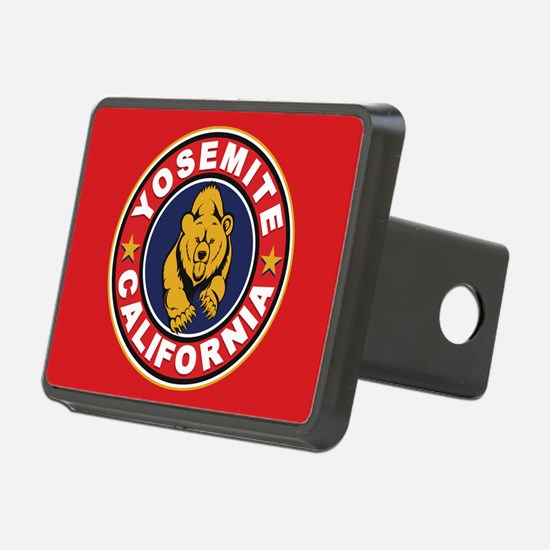 Yosemite Red Circle Hitch Cover