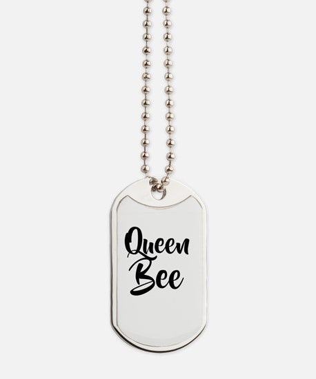 Queen Bee Dog Tags