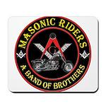 Masonic Bikers Mousepad