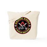 Masonic Bikers Tote Bag