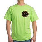 Masonic Bikers Green T-Shirt