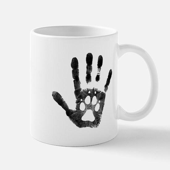 Lobo Paw Print Mug