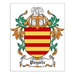 Poyntz Coat of Arms Small Poster