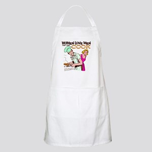Women Love Men BBQ Apron