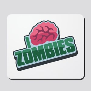 Plight of the Zombie in Green Mousepad