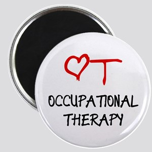 Occupational Therapy Heart Magnet