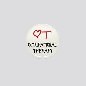 Occupational Therapy Heart Mini Button