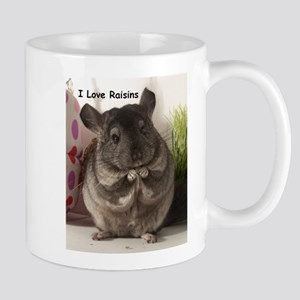 Chinchilla raisins Mug