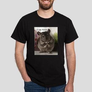 Chinchilla raisins Dark T-Shirt