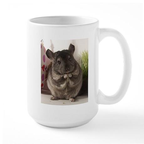 lovely chinchilla Large Mug