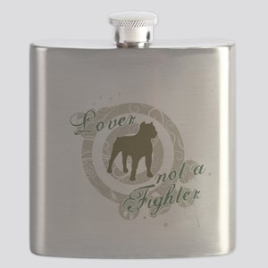 Lover not a Fighter Flask
