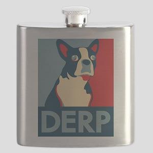 Derp Derp Derp Flask