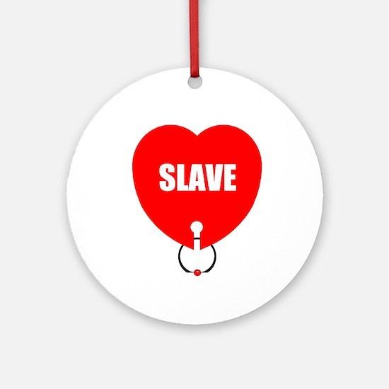 Loveslave Heart Ornament (Round)
