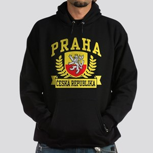 Praha Ceska Republika Hoodie (dark)