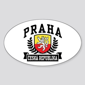 Praha Ceska Republika Sticker (Oval)