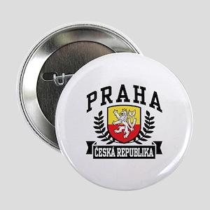 "Praha Ceska Republika 2.25"" Button"