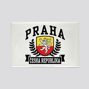 Praha Ceska Republika Rectangle Magnet