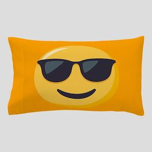 Sunglasses Emoji Pillow Case