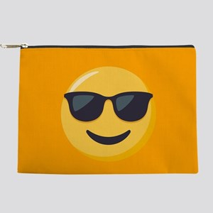 Sunglasses Emoji Makeup Pouch
