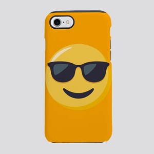 Sunglasses Emoji iPhone 7 Tough Case