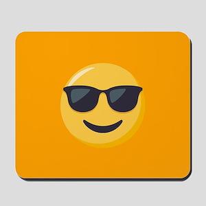 Sunglasses Emoji Mousepad