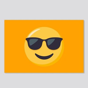 Sunglasses Emoji Postcards (Package of 8)