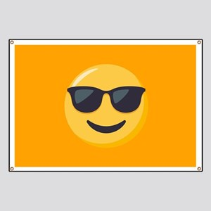 Sunglasses Emoji Banner