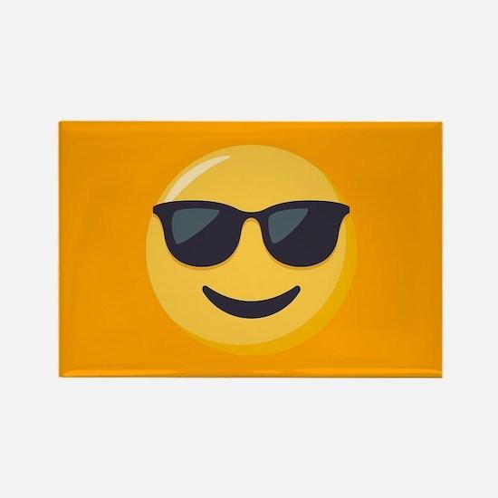Sunglasses Emoji Rectangle Magnet