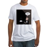 Bat Wake-Up Call Fitted T-Shirt